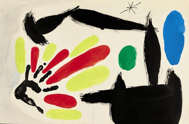 , 'Nacimiento de la Bandera Catalane,' 1968, Opera Gallery
