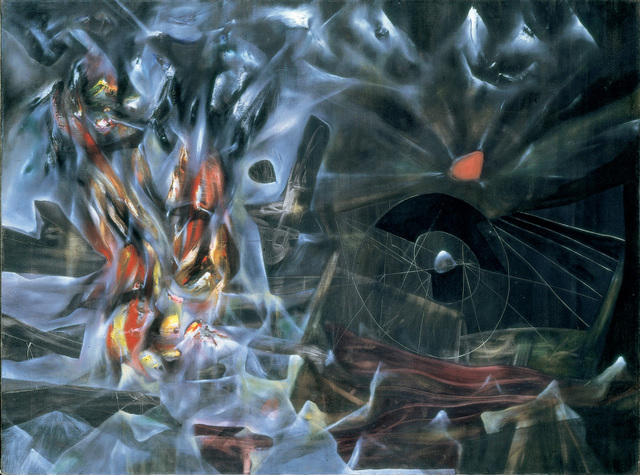 Roberto Matta, 'The Disasters of Mysticism', 1942, Painting, MALBA