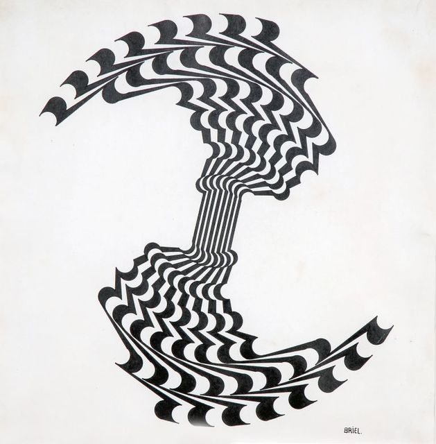 Ernesto Briel, 'Ruptura del círculo ', 1969, Drawing, Collage or other Work on Paper, Ink on paper, El Museo del Barrio