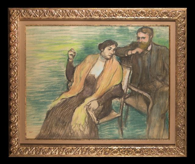 Edgar Degas, 'Portrait de M. et Mme. Louis Rouart', ca. 1904, Trinity House Paintings