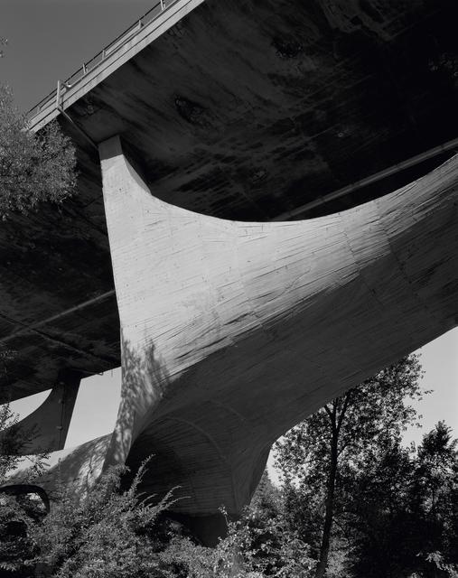 , ''Basento Bridge- Potenza- A' Architecture by Sergio Musmeci,' 2015, ammann//gallery