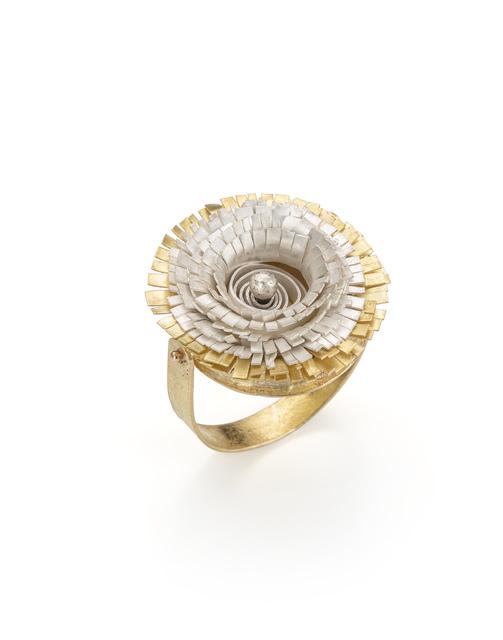 Lucia Massei, 'm'ama non m'ama', 2020, Fashion Design and Wearable Art, Gold, silver, Galleria Antonella Villanova