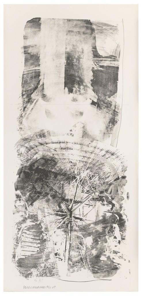 Robert Rauschenberg, 'Waves (Stoned Moon),' 1969, San Francisco Museum of Modern Art (SFMOMA)
