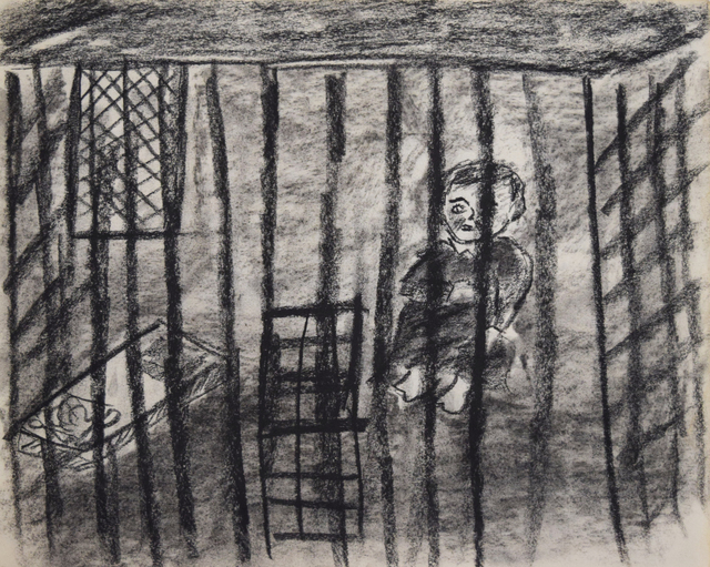 , 'Prison/Incarceration,' 1997, Fountain House Gallery