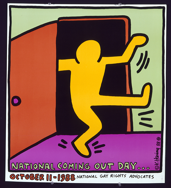 , 'National Coming Out Day,' 1988, Grey Art Gallery