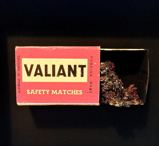 , 'Life in a match box I,' 2018, Hicks Gallery