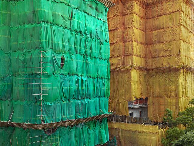 , 'Greeen - Orange Cocoon, Hong Kong - 2013,' 2013, Contemporary by Angela Li