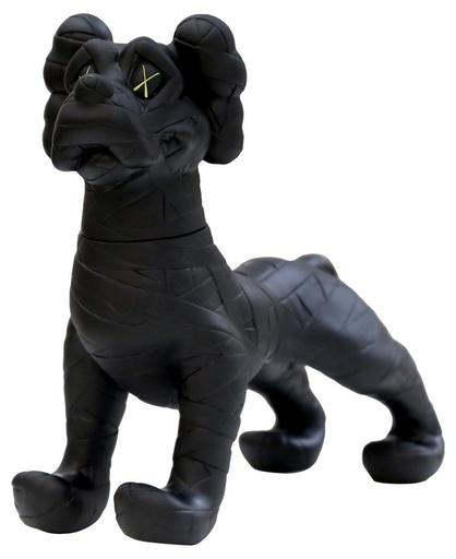 KAWS, 'ZOOTH (BLACK)', 2008, Sculpture, Painted Cast Vinyl, Marcel Katz Art