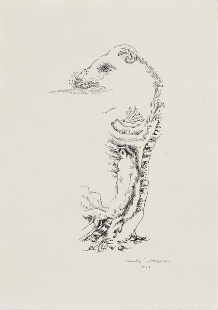 , 'Bélier pourrissant (Disintegrating Ram),' 1940, DICKINSON