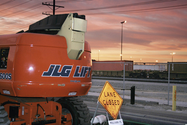 , 'JLG / Lane Closed, Los Angeles,' 2006, Opiom Gallery