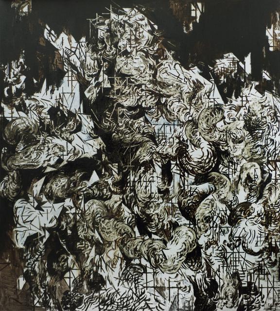 Zelin Seah, 'Laocoon Version C', 2014, Painting, Oil and bitumen on linen, Taksu