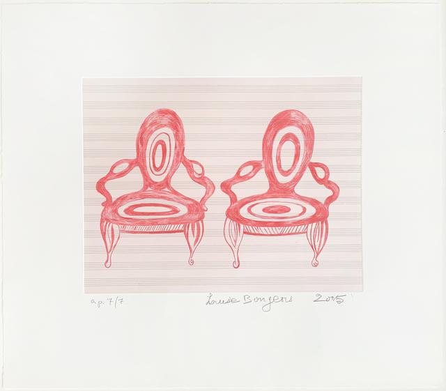 Louise Bourgeois, 'Twosome', 2005, Jim Kempner Fine Art