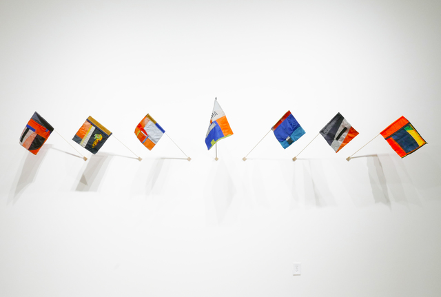 , 'Signal Flags for Climate Change,' 2017, HATHAWAY | Contemporary Gallery