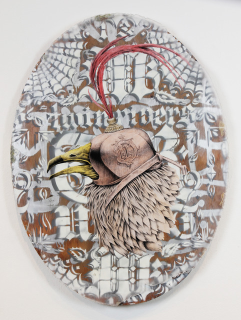 , 'W Vulture,' 2013, Jonathan LeVine Projects