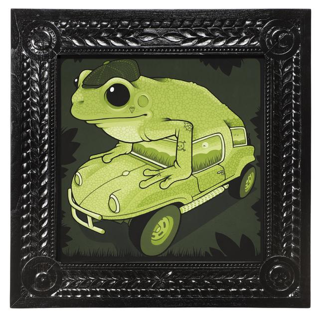 , 'Fiberglass Frogmobile,' 2017, Jonathan LeVine Projects