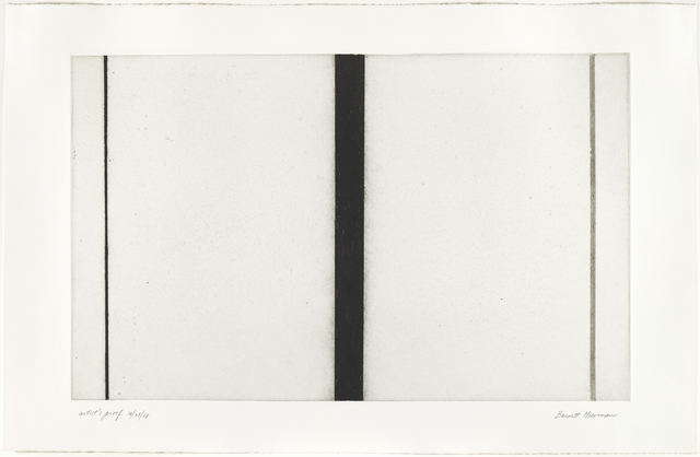 , 'Untitled Etching #1,' 1969, Brooke Alexander, Inc.