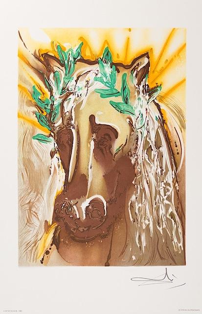 Salvador Dalí, 'Le Cheval du Printemps (Horse of Spring)', 1983, Art Lithographies