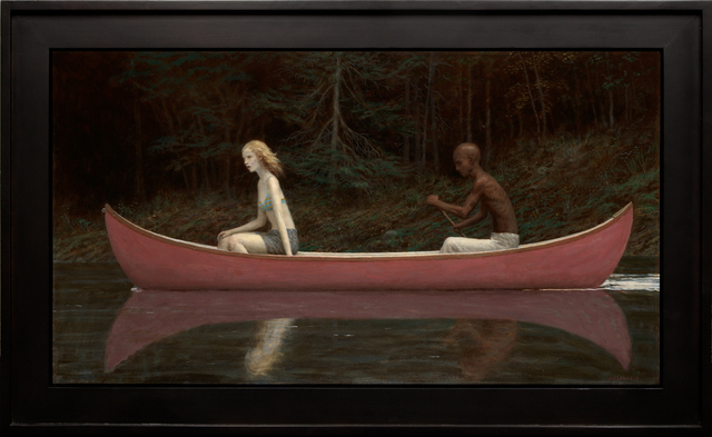 , 'Canoe,' 2016, Jonathan LeVine Projects