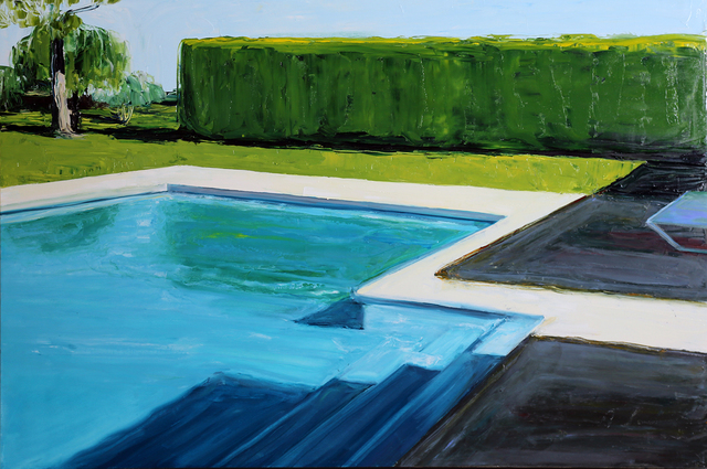 , 'Alan's Pool,' 2015, Linda Hodges Gallery