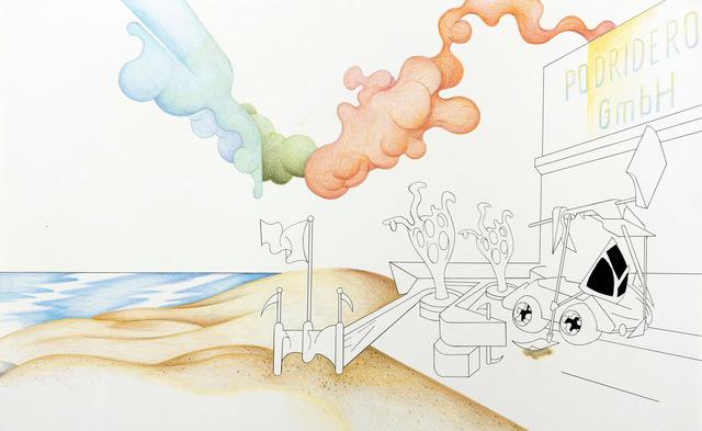 , 'PROSPEROS ABENDLAND FOR DUMMIES,' 2016, Nora Fisch