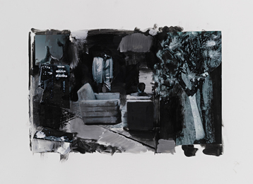 Adrian Ghenie, 'Study for Boogeyman,' 2010, Sotheby's: Contemporary Art Day Auction