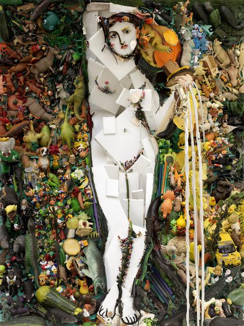 , 'Inventory 86 - La Source (After Ingres),' 2008, Mazel Galerie