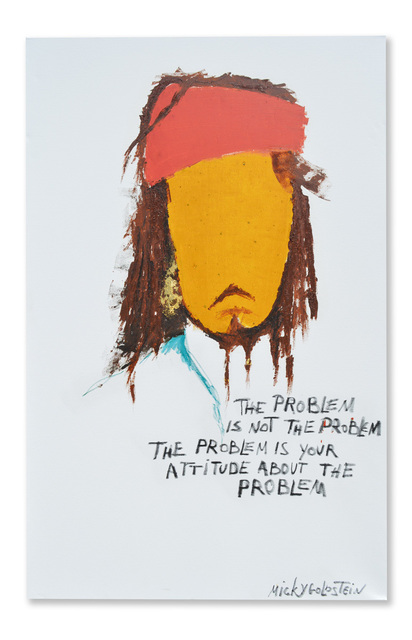 , 'The Problem is not the problem,' 2017, Lemon Frame gallery