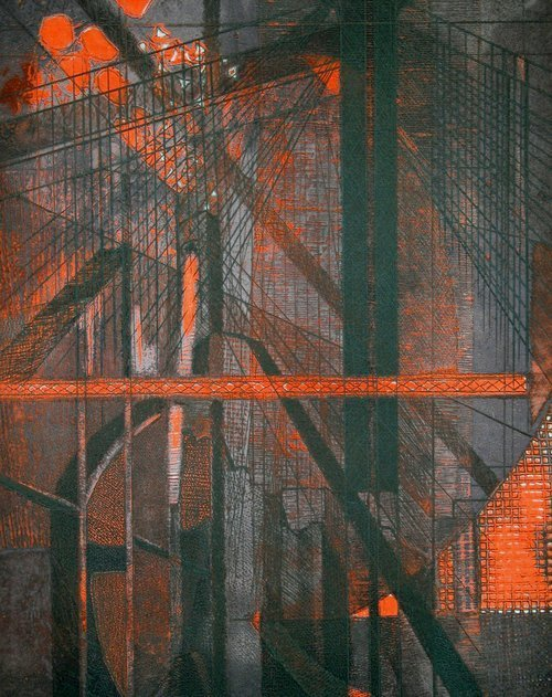 Sabina Klein, 'Bridge at Night', 1988, Long-Sharp Gallery