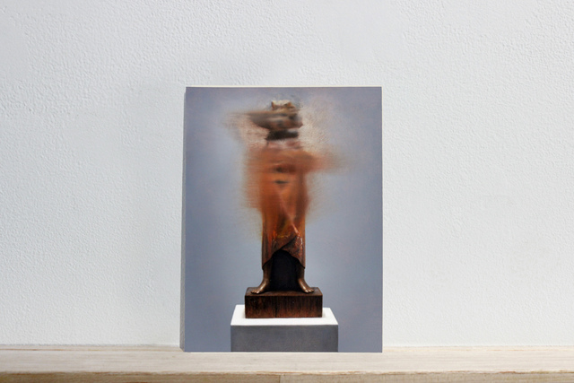 """, 'Postcards to AZ: Ernst Barlach's """"Die Flamme, 1934"""",' 2017, Josée Bienvenu"""
