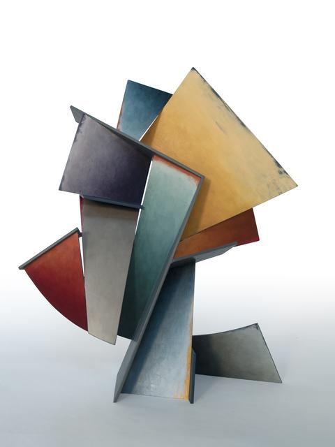 , 'Steel Azure,' 2017, Gallery Victor Armendariz
