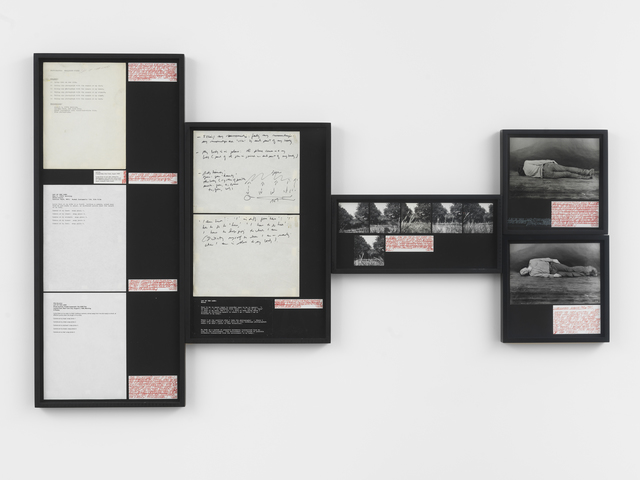 Vito Acconci, 'Lay of the Land', 1969, Simon Lee Gallery