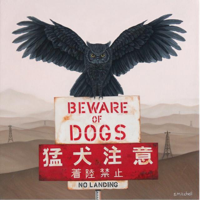, 'Beware of Dogs,' 2018, Spoke Art