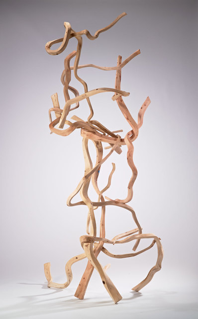 Sam Perry, 'Clew III', 2019, Sculpture, Wood, Rena Bransten Gallery