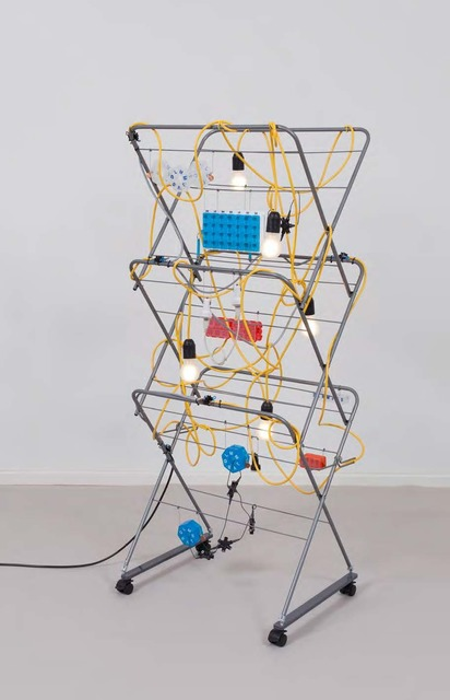 , 'Non-Indépliable, nue – Strive and Stake Yellow,' 2018, kurimanzutto