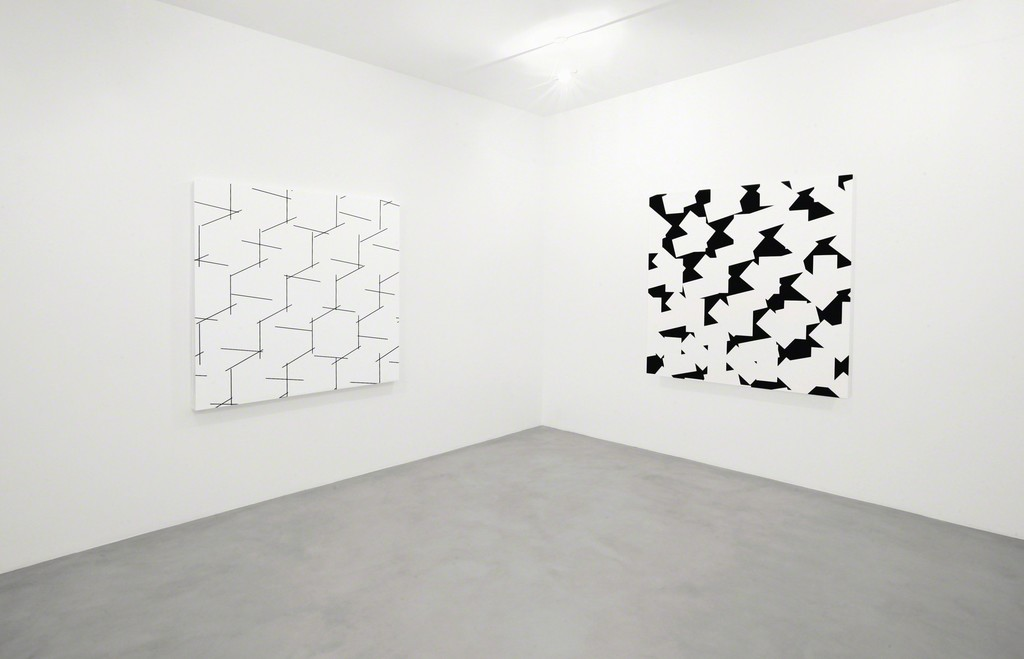 (from left to right) 3D concertant n°3 - 10° 90° 27°, 2014 /