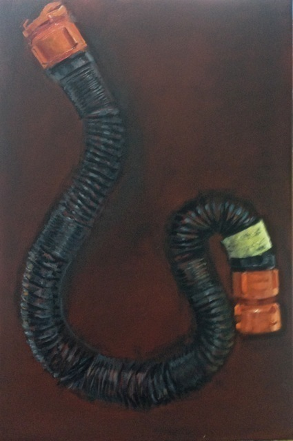 ", 'RV 10"" Sewer Hose Extension,' 2014, Vohn Gallery"