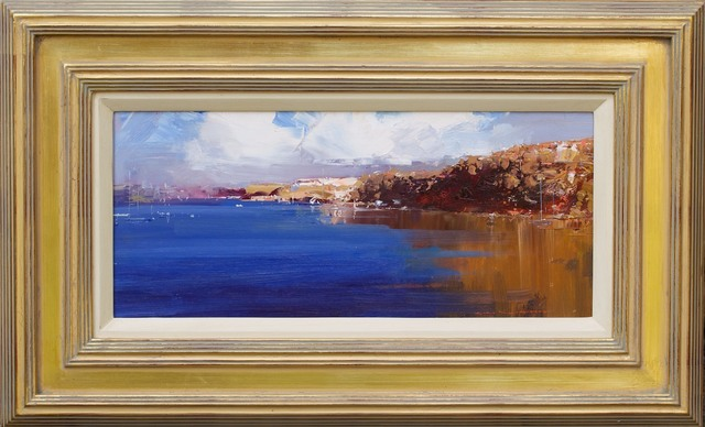 , 'The Harbour Blue,' , Wentworth Galleries
