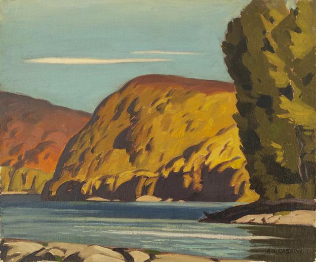 , 'Otter Lake,' 1937, Canadian Fine Arts
