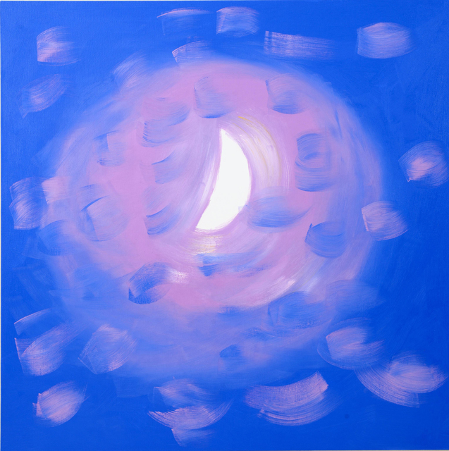 , 'Moon (after Half Moon, Speckled Pink Clouds, 11-2-15), 2015,' 2015, Nina Johnson
