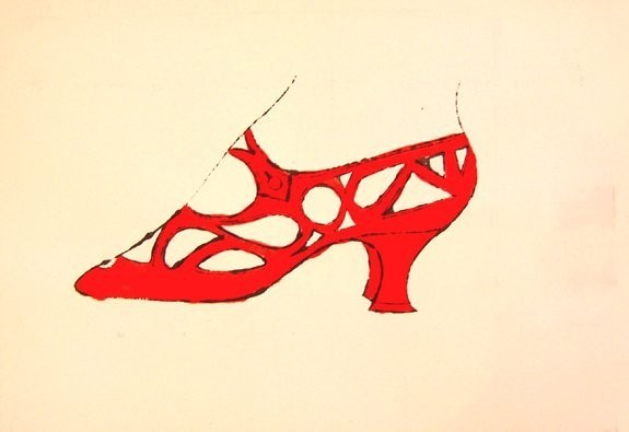 , 'Red Shoe, IV.73B,' ca. 1955, Hamilton-Selway Fine Art