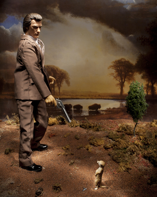 , 'Dirty Harry on the Buffalo Trail (I know what you're thinking... punk),' 2012, Art Mûr