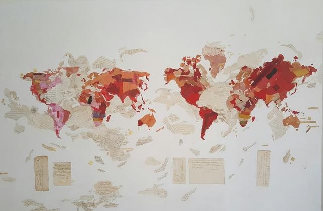 , 'Evolution Map,' 2016, Villa del Arte Galleries