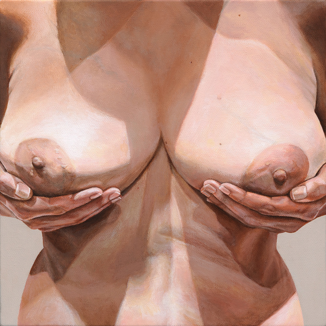 , 'Breast Portrait #8,' 2013, Catharine Clark Gallery