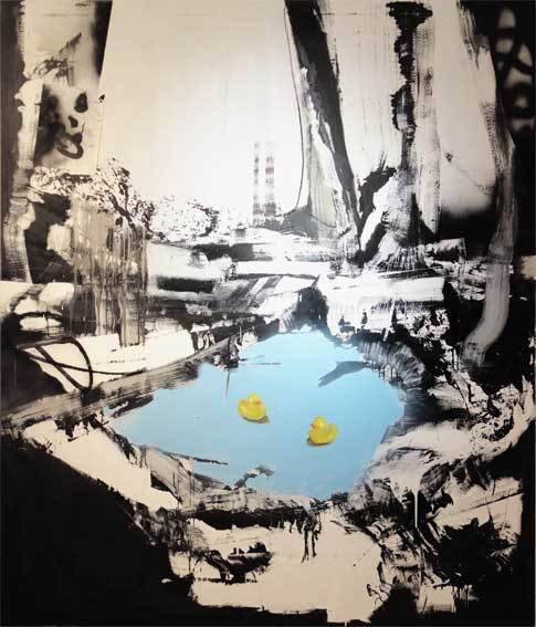 , 'Sitting Ducks - Ground Zero,' 2016, Galerie Kellermann