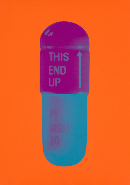 , 'The Cure - Bright Orange/Orchid/Air Force Blue,' 2014, Lawrence Alkin Gallery