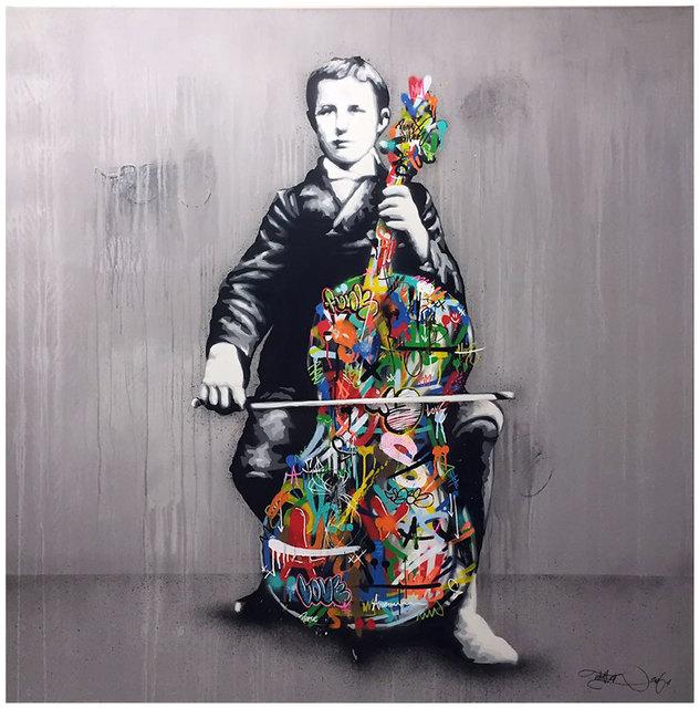 , 'Cello Player,' 2016, Black Book Gallery