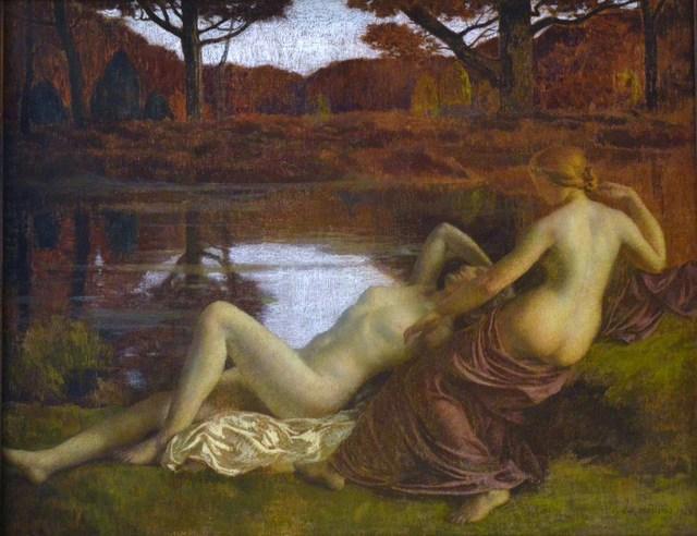 , 'Les Dryades (Nymphs),' 1913, Stair Sainty