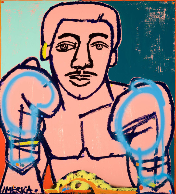 , 'Gold Belt Boxer,' 2015, Joanne Artman Gallery
