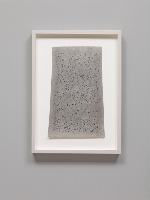 , 'Waterfall Stone,' 1970-1971, Parafin