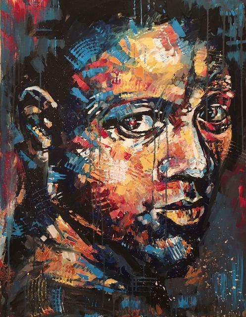 , 'Man's face,' 2016, BOCCARA ART